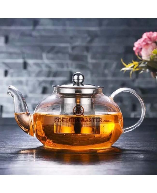 Glass Tea Pot - Non-porous Borosilicate Glass