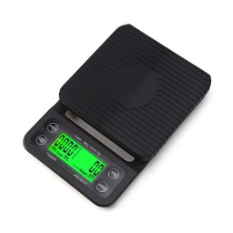 Coffee Scale with Timer - High Accuracy Kitchen Food Scale with Tare Function