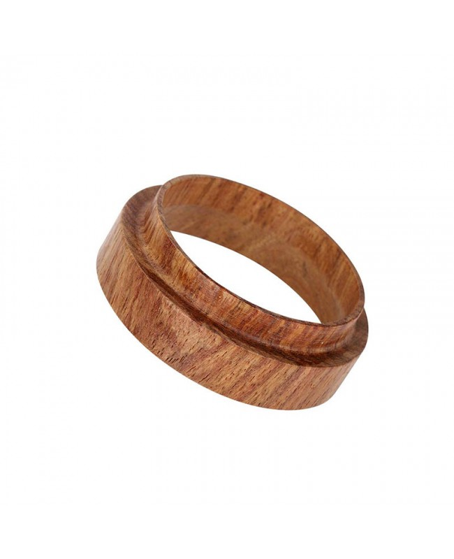 Coffeesmaster Coffee Dose Ring Replacement - Portafilter Dosing Funnel - Wood - 58mm