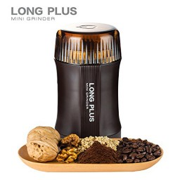 Long Plus Mini Electric Coffee Grinder - 200W
