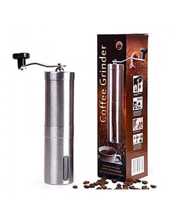 Coffeesmaster Manual Coffee Grinder- Hand Conical Coffee Bean Grinder With Ceramic Mechanism