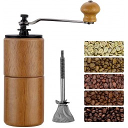 Coffeesmaster Manual Wood Coffee Grinder Mill