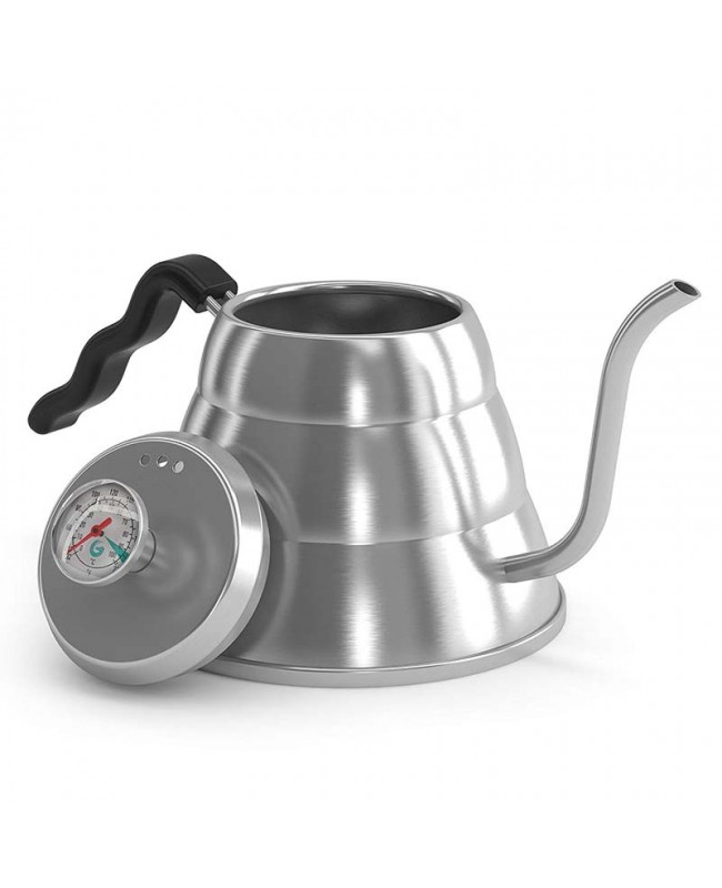 Coffeesmaster Pour Over Kettle - Fixed Thermometer for Exact Temperature (34floz)