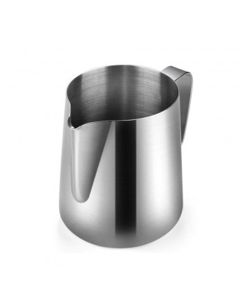 Coffeesmaster Frothing Jug - Milk Pitcher - Silver