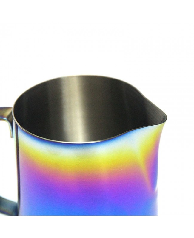 Coffeesmaster Rainbow Milk Frothing Pitcher - Creamer Frothing  Jug for Espresso Cappuccino Latte