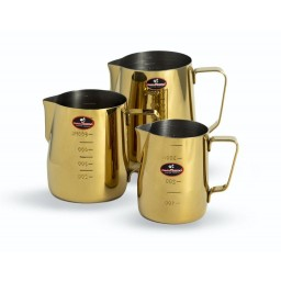 Titanium Plated Espresso Coffee Latte Milk Pitcher - Gold
