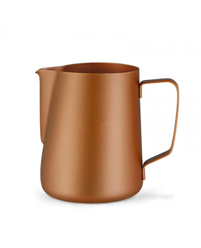 Coffeesmaster Teflon Milk Frothing Pitcher - Coffee Jug - Champagne Gold