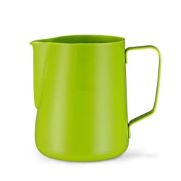 Coffeesmaster Teflon Milk Frothing Pitcher - Coffee Jug - Green