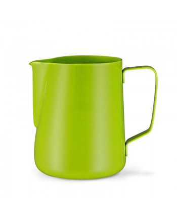 Coffeesmaster Teflon Milk Frothing Pitcher - Coffee Jug - Green