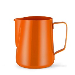 Coffeesmaster Teflon Milk Frothing Pitcher - Coffee Jug - Orange
