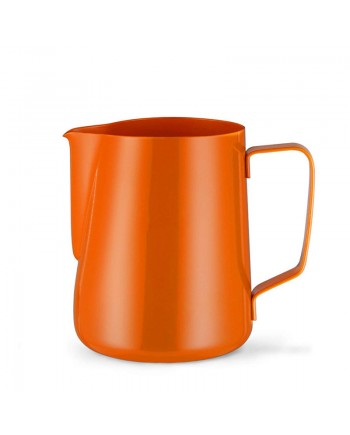Coffeesmaster Teflon Milk Frothing Pitcher - Coffee Jug - Orange