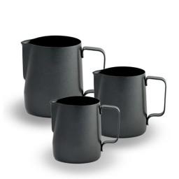 Coffeesmaster Teflon Milk Frothing Pitcher Jug - Black