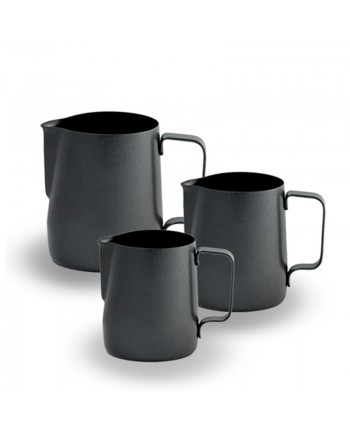 Coffeesmaster Teflon Milk Frothing Pitcher Jug - Black