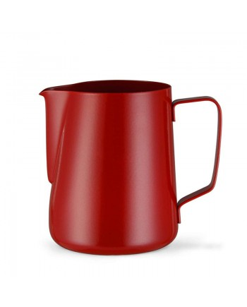Coffeesmaster Teflon Milk Frothing Pitcher Jug - Red