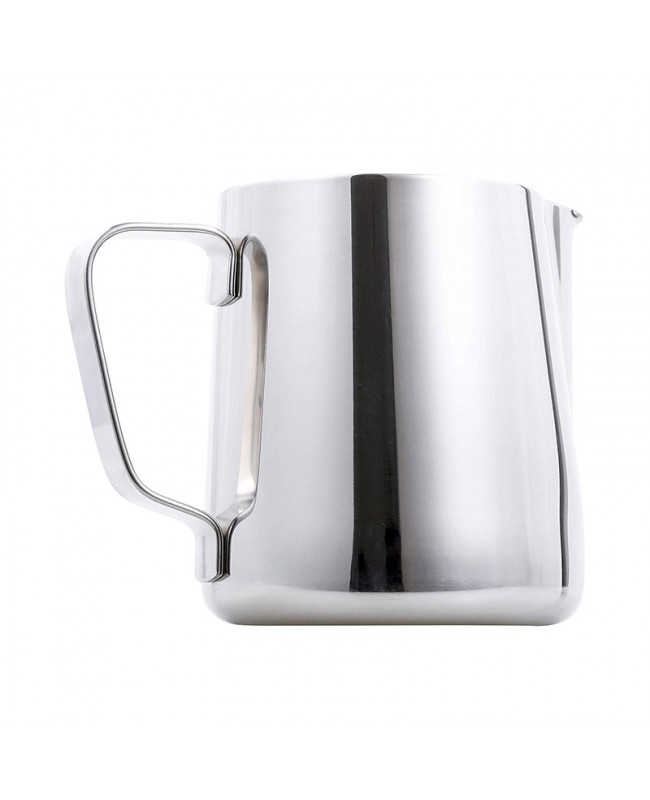 Coffeesmaster Espresso Steaming Pitcher - Milk Frothing Cup - Jug with Measurements Inside