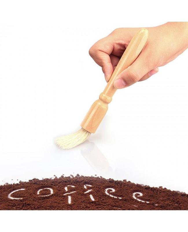 Coffee Grinder Cleaning Brush - Wood Handle