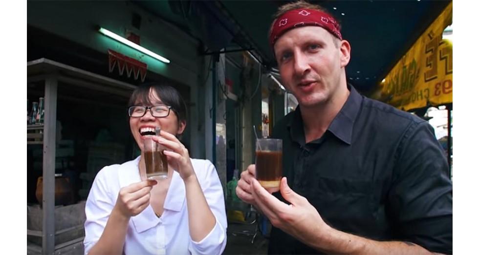 Home roasting Vietnamese coffee
